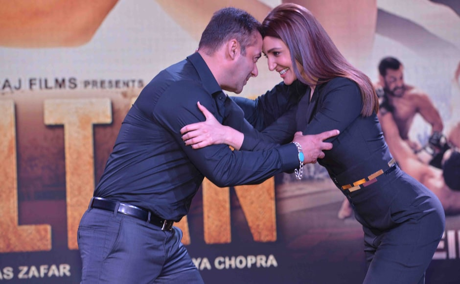 Salman also said that Anushka's character Aarfa plays a key role in Sultan's evolution.