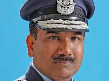 Air force chief Arup Raha. PIB
