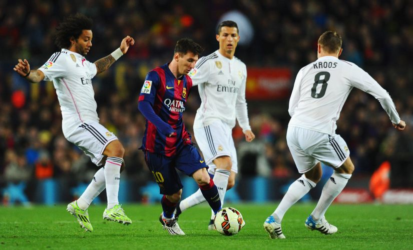 Barcelona and Real Madrid are two of the richest clubs in the world. Getty