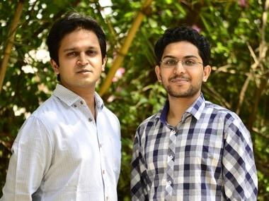 Co-Founders Nishith Rastogi (left) and Geet Garg