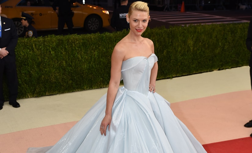 Claire Danes in her Cinderella-esque gown