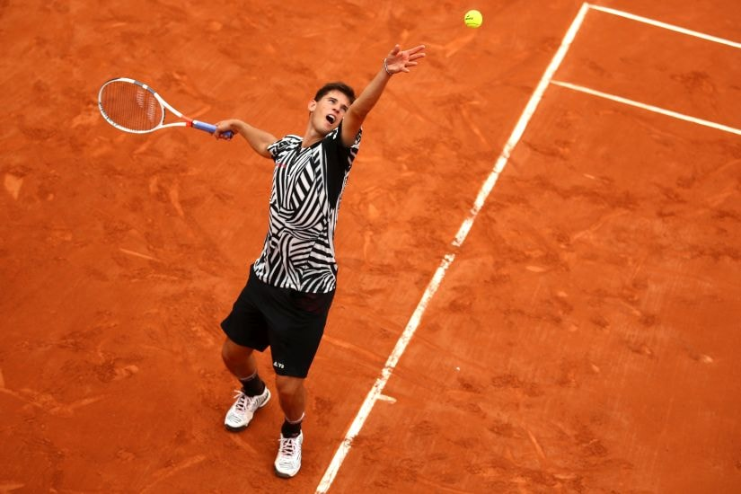 Dominic Thiem. Getty Images
