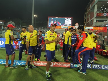 Rahul Dravid mentor Delhi Daredevils with the team players. BCCI