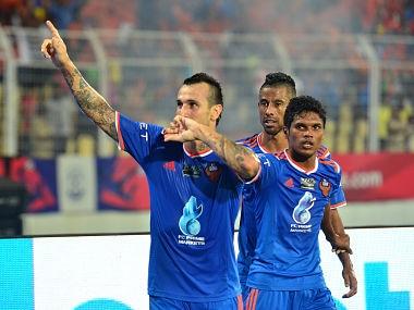 File photo of FC Goa. AFP