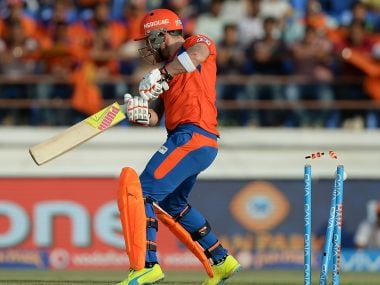 Gujarat Lions failed to chase KXIP's target of 155. AFP