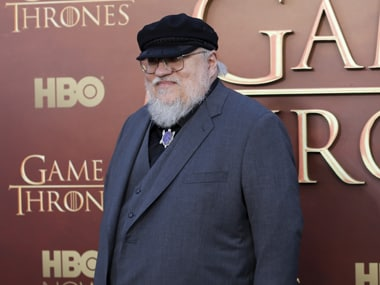 George RR Martin. File photo/Reuters