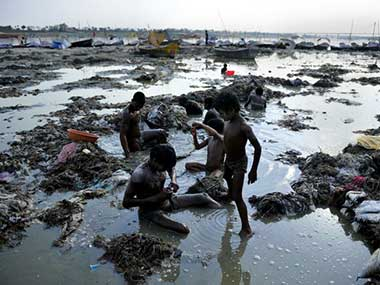 NGT slammed the municipal bodies of Mirzapur, Chunar, Bhadohi, Fatehpur and Hastinapur in Uttar Pradesh for not complying with environment rules. AFP