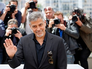 George Clooney at the 69th Cannes Film Festival in Cannes. Reuters