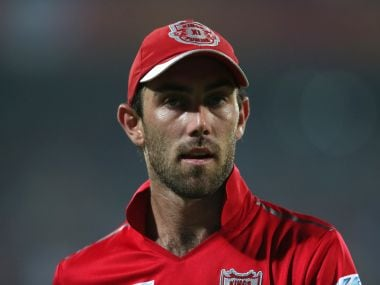 Glenn Maxwell of Kings XI Punjab has withdrawn with a side strain. BCCI