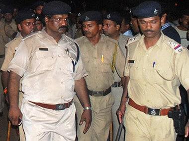 File photo of Goa police. AFP