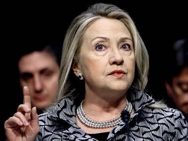 Hillary Clinton. AP.