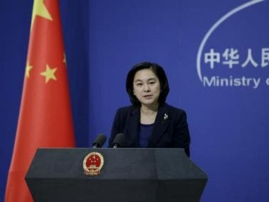 Hua Chunying, spokeswoman of China's Foreign Ministry. File Photo. Reuters