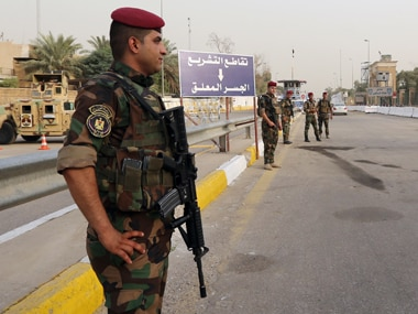 Security forces in Iraq. File photo. AP