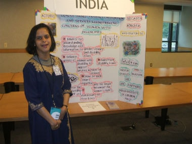 Jeeja Ghosh, Head of Advocacy & Disability Studies at IICP. Jeeja Ghosh