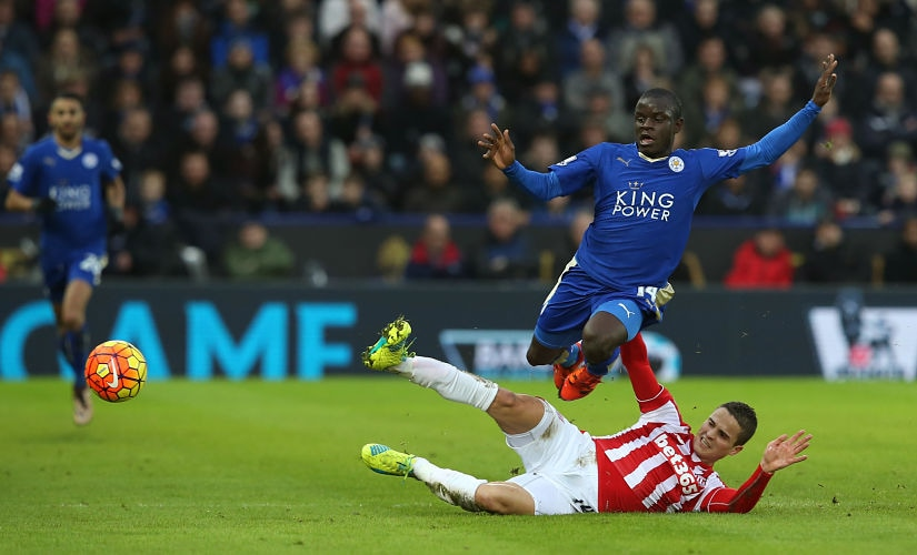 The sight of N'Golo Kante running tirelessly across vast swathes of the midfield was among the defining images of the season. Intercept. Pass. Drag marker. Run down the flanks. Getty