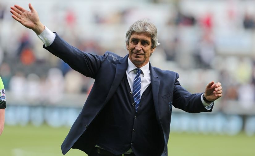 Manchester City's manager Manuel Pellegrini will be replaced by Pep Guardiola. AFP