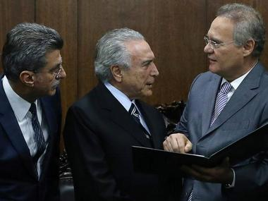 File photo of Michel Temer. Reuters