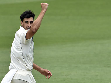 Mitchell Starc injured his ankle while playing against New Zealand in November. AFP