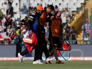 Ashish Nehra suffered a hamstring injury in his last match for the Sunrisers Hyderabad. BCCI