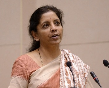 File photo of Commerce Minister Nirmala Sitharaman. AFP