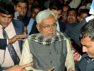 A file photo of Nitish Kumar. PTI
