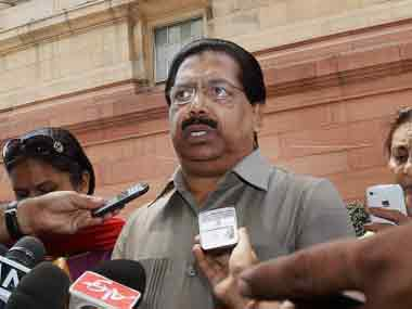 Congress leader PC Chacko. PTI