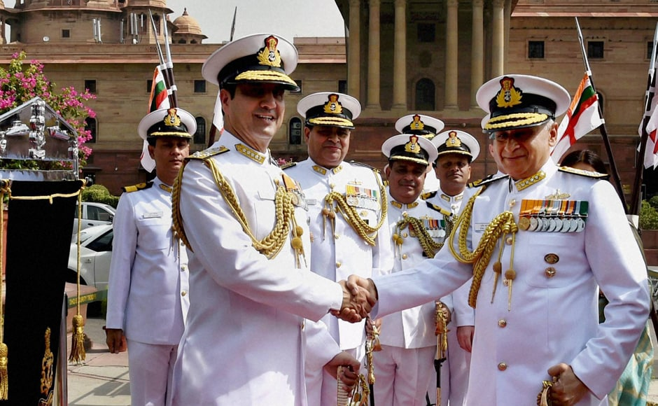 58-year-old Lanba, a specialist in Navigation and Direction, will have the full three-year tenure as the Navy Chief. He succeeded Admiral RK Dhowan who has retired. PTI