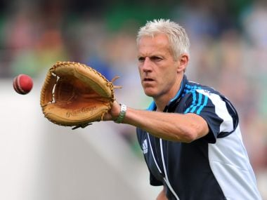 Former England coach Peter Moores. AFP