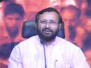 File photo of Prakash Javadekar. Image courtesy: IBNLive