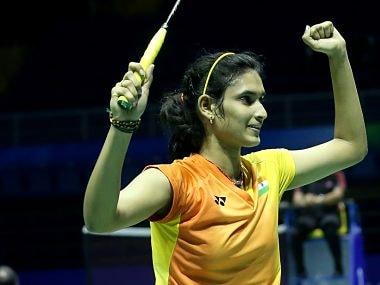 Ruthvika Shivani Gadde after her Uber Cup victory. bwf official website