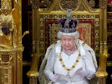 Britain's Queen Elizabeth II. Reuters
