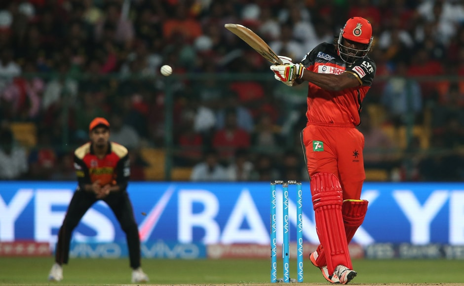 Chris Gayle threatened to end the match way ahead of schedule, his whirlwind 38-ball-76 nearly giving RCB the best possible start. BCCI