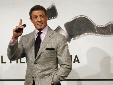Sylvester Stallone. Reuters