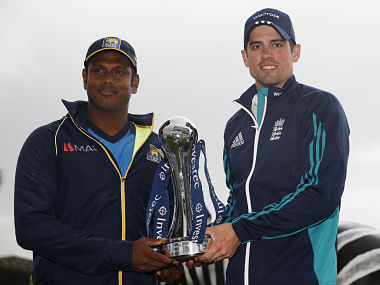 Angelo Mathews looking to fight back. Reuters