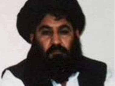 File photo of Taliban militant Mullah Akhtar Mohammad Mansour. Reuters
