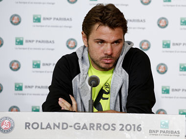 Wawrinka ready to defend French Open title. Reuters