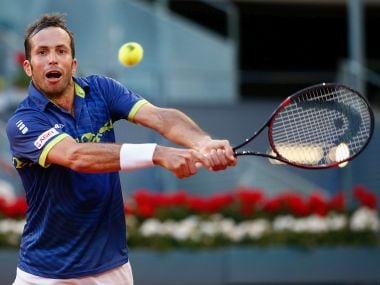 Radek Stepanek of Czech Republic, at 37, is the oldest man in the men's draw. Getty Images