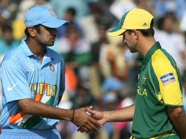 File picture of Rahul Dravid and Ricky Ponting. Getty