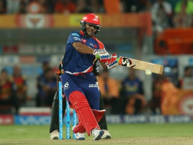 Rishabh Pant remained unbeaten on 39 off 26 balls at the end of Delhi's innings. Sportzpics/IPL
