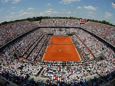 Representational image of Roland Garros. AP