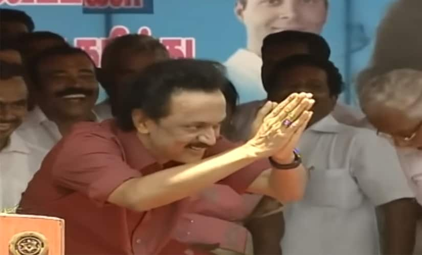 MK Stalin mocked Jayalalithaa's supporters at an election rally.