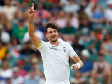 England pacer Steven Finn was ruled out of the recently-concluded ICC World T20 due to a calf injury. Getty Images