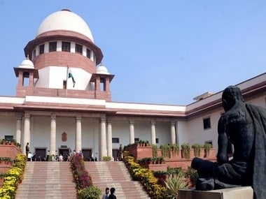 Supreme Court of India. Image from PTI