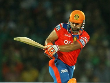 Gujarat Lions skipper Suresh Raina hit eight fours and two sixes in his match-winning 58 off 36 balls. Sportzpics/IPL