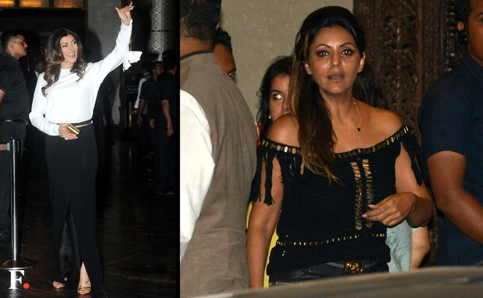 (L to R) Sushmita Sen and Gauri Khan. Firstpost/ Sachin Gokhale