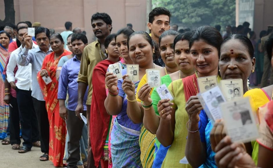 This is a three-fold increase in the deployment of central forces from the last election. Firstpost/Vanne Srinivasulu