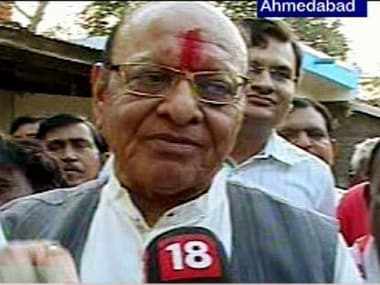 Congress leader Shankar Sinh Vaghela. News18