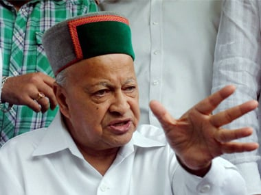 A file photo of Virbhadra Singh. PTI