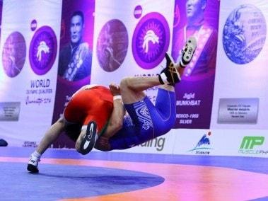 World Olympic Qualifying in Istanbul. Image courtesy: Facebook/United World Wrestling