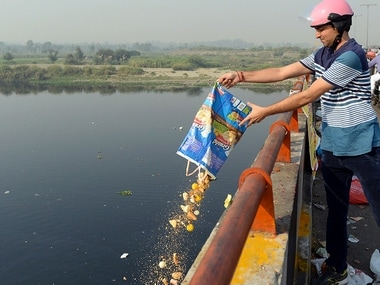 NGT summons heads of departments to explain why the Yamuna can't be cleaned. File photo. AFP